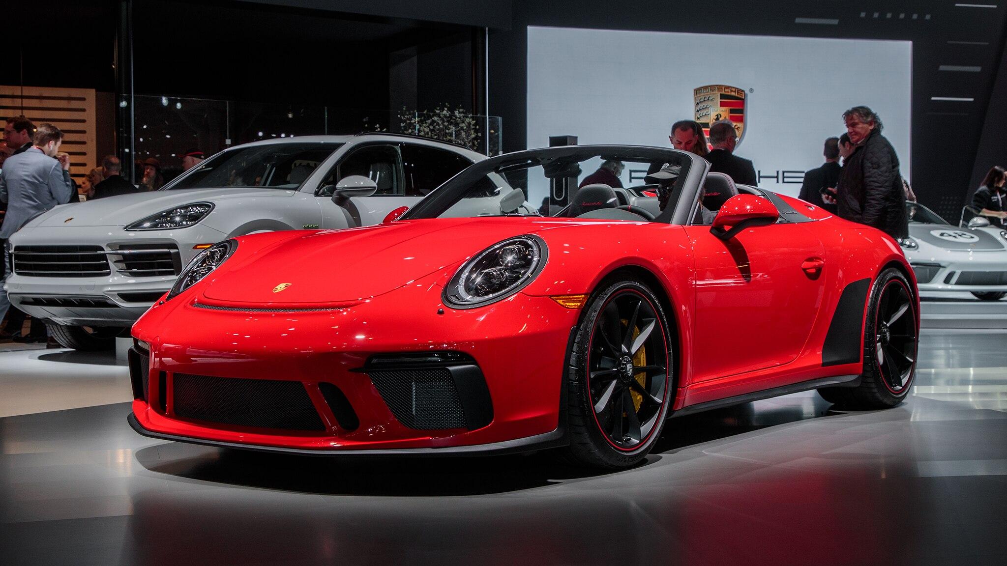 2019 Porsche 911 Speedster Heritage Design