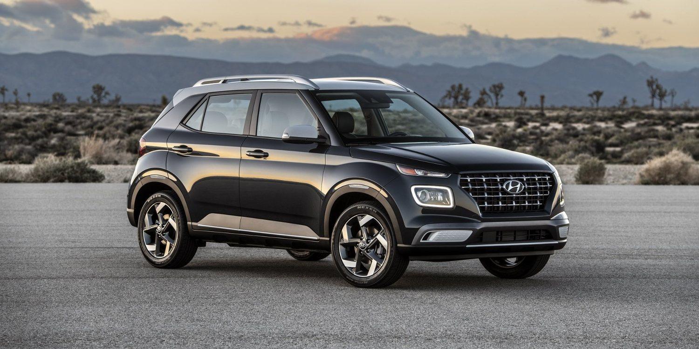 Hyundai Venue 2020 negro