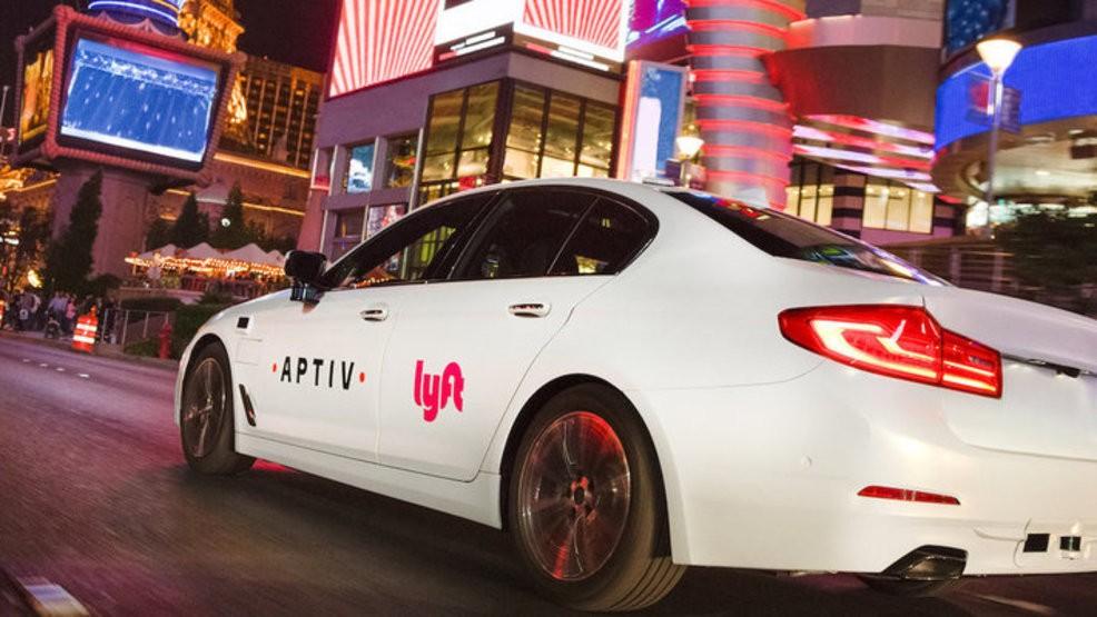 Auto autónomo de Lyft en Las Vegas