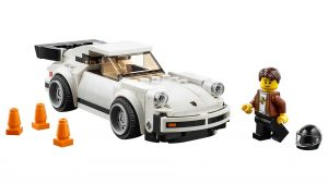 Lego Speed Champios Porsche 911, versión 70's