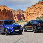 Los BMW X5 M y X6 M 2020 son SUVs con el corazón de un M5