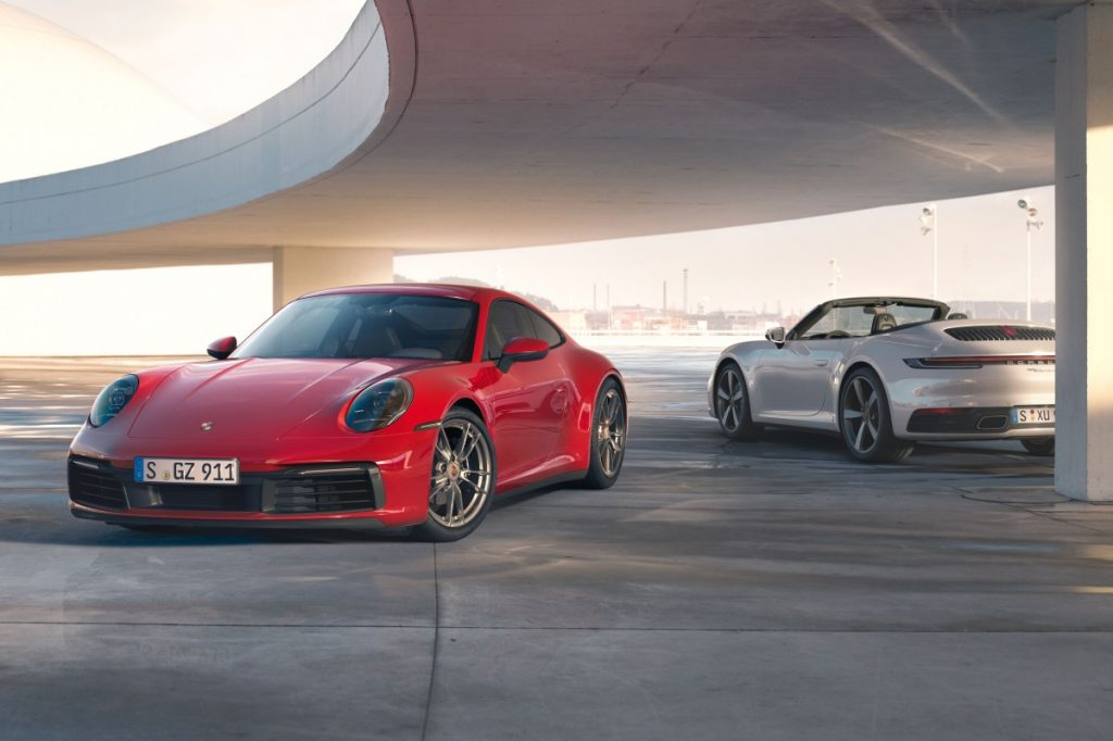 Porsche Carrera 4 Cabriolet 2020