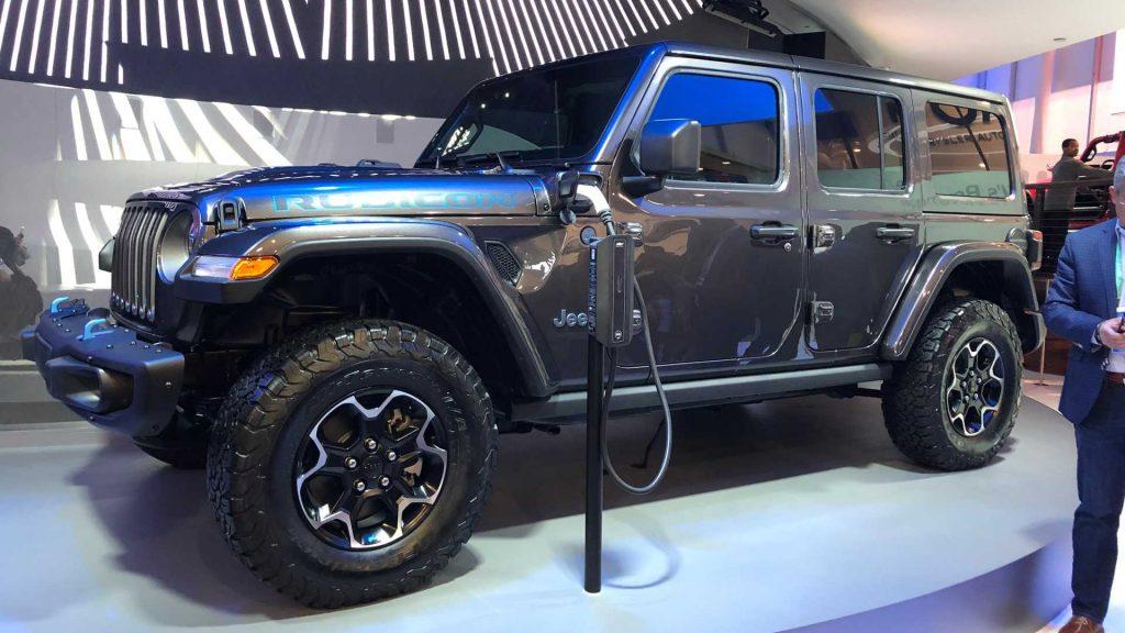 Camioneta eléctrica de Jeep