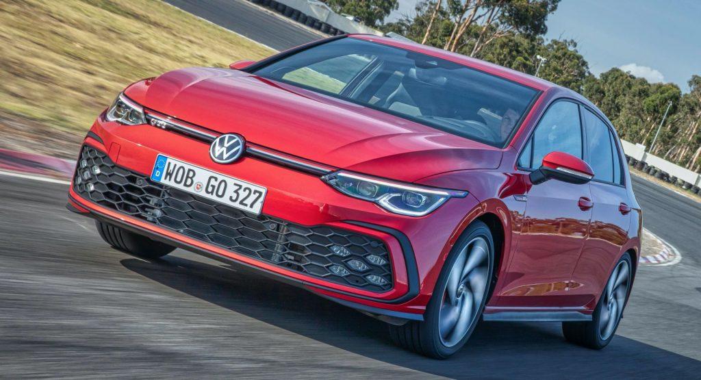 VW Golf GTI 2021 rojo