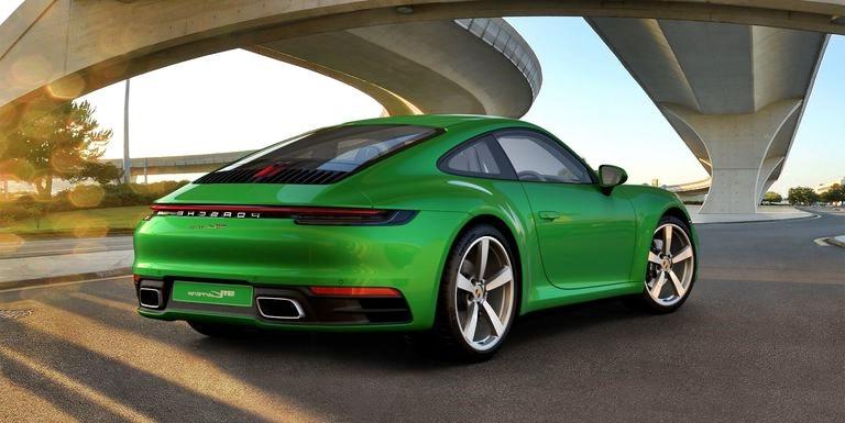 Porsche está otorgando algunos cambios menores al 911 de la generación 992 para 2021