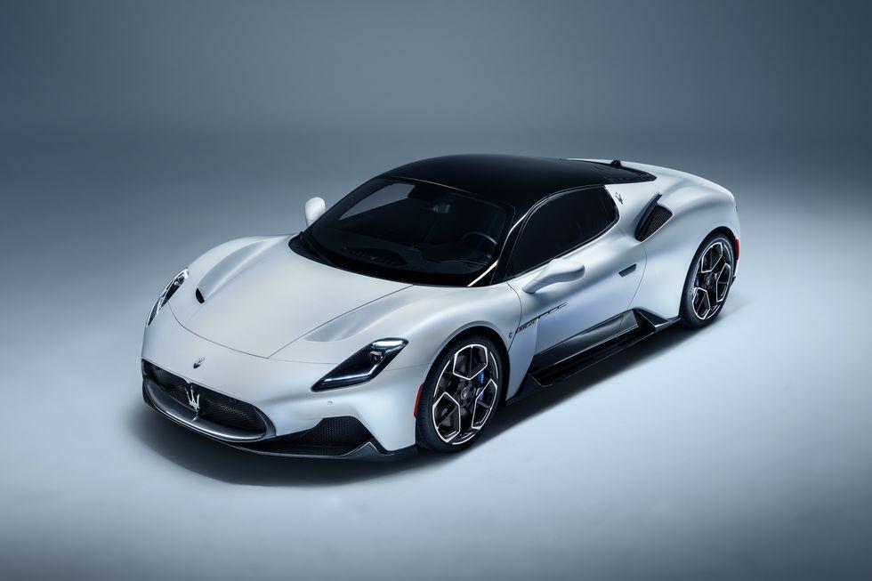 El Maserati MC20 estará propulsado por un V-6 biturbo que se rumorea producirá más de 600 caballos de fuerza